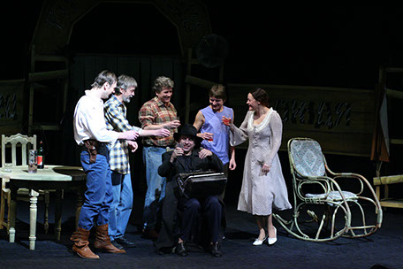 «The rain seller», stage director - M. Abramov, 2005